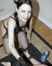 Mistress Danielle in action in Plugged