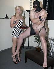Mistress Ariel punishes