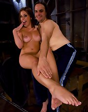 Penny Flame trains her slave boy